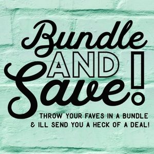Bundle & Save! 💰💰💰